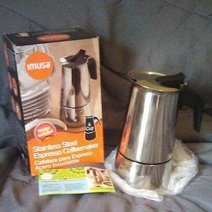 IMUSA Stainless Steel Espresso Coffeemaker